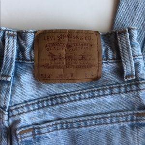 Vintage 90s Levi's Slim Fit Tapered Leg Jeans